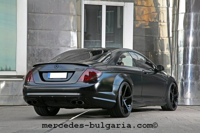 Anderson Black Edition Mercedes CL65 AMG