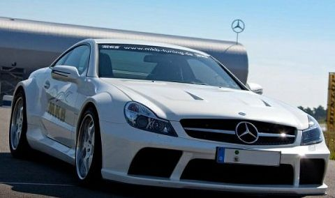 Mercedes SL65 AMG Black Series MKB